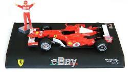 Hot Wheels 1/18 2006 Ferrari 248 F1 Schumacher Monza Italie Gp Limited Edition
