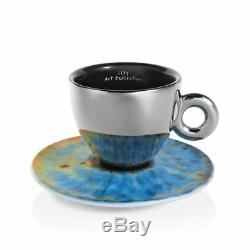 Illy Art Collection 6 Coupes Cappuccino Marc Quinn Iris Limited Edition