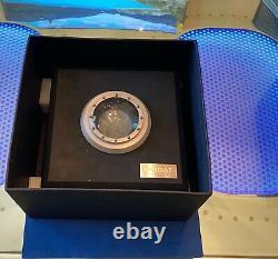 Limited Blackout Edition Uboat Classico Cab 4/45 W Bracelet En Cuir Supplémentaire Nouvelle