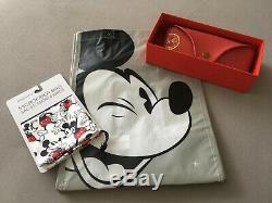 Limited Edition Disney Mickey Mouse 90 Or 24 Carats Ray Ban Aviator
