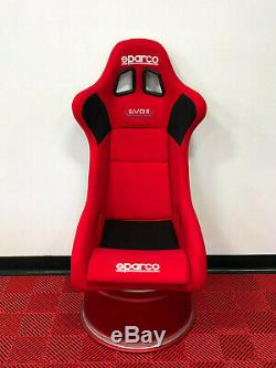 Limited Edition Sparco Evo II Concours Eir (2019) Racing De Red Seat