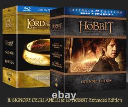 Lo Hobbit & IL Signore Degli Anelli Extended Edition (24 Blu-ray) Box Italiani