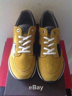 Louis Vuitton 1100 Miles Moutarde Sneaker Sz. 8 Nouveautés Box Limited Edition