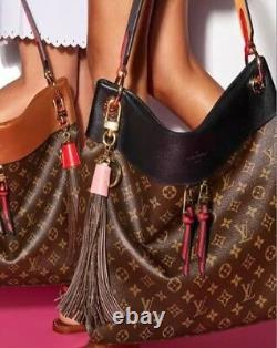 Louis Vuitton, Limited Edition Rose Tassel, 10.5, Charme Sac, Porte-clés Complet