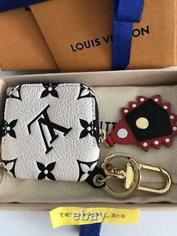 Louis Vuitton New Crafty Square Pouch 2020 Bag Charm Key Holder Limited Edition