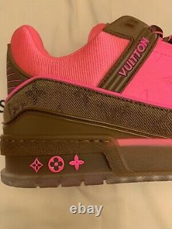 Louis Vuitton Trainer Sneakers Pink Lv8 Us 9 Ltd Edition Vendu