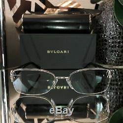Lunettes Bvlgari Cristal Swarovski Limited Edition 2157-b Sapphire Sold Out