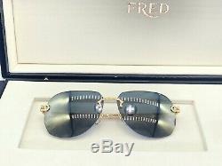Lunettes De Soleil & Bracelet Fred Fg40001u Solid Gold 18k LIM Édition 66 Pièces Cartier