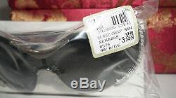 Lunettes De Soleil Palladium Noir Chopard Limited Edition Cristal Bouclier Sch A65s 0579
