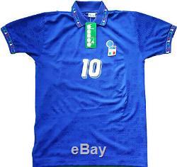 Maglia Italia 1994 Diadora Baggio USA 94 Coupe Du Monde Version M Player Mondiale