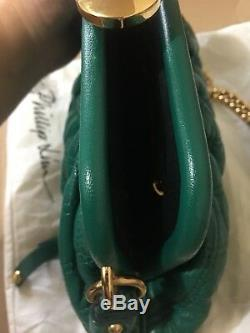 Marc Jacobs Quilted Petit Stam Resort 2013 Limited Edition-emerald