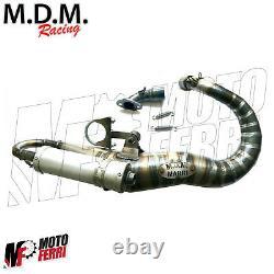Mf1308 Marmitta MDM Facile V2.0 Vespa 50 Special R L N Pk S XL 125 Et3 -115 130