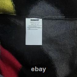 Missoni Edition Limitée Couleur Bloc Intarsia Mohair Chandail De Laine It48 / M-l 1300 $