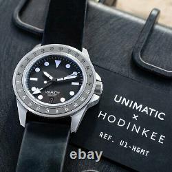 Modèle Unimatique Uno U1-hgmt Non Ouvert Pour Hodinkee (édition Limitée De 500)