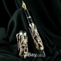 Montegrappa 10e Anniversaire Rose Gold Dragon Limited Edition Fountain Pen