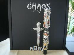 Montegrappa Chaos Argent Massif Plume Limited Edition Sylvester Stallone