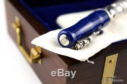 Montegrappa La Sirena Limited Edition Silver Fountain Pen # 0 Epreuve D'artiste / 1912