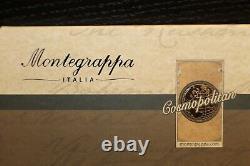 Montegrappa Limited Edition 001 Cosmopolitan Paris Bohème Argent Stylo-plume