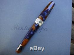 Montegrappa Limited Edition 888 Supplémentaire Otto Lapis Pen Celluloid Fontaine # 8 18k