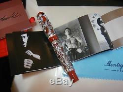 Montegrappa Limited Edition Bruce Lee Dragon En Argent Massif Fountain Pen Grea