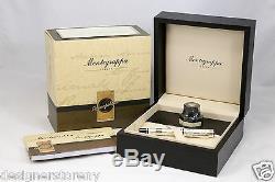Montegrappa Limited Edition Cosmopolitan Victorienne London Silver Fountain Pen