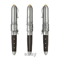 Montegrappa Revolver Limited Edition Fountain Pen Mint Rare Collection Super