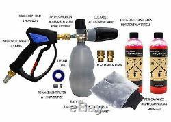 Mtm Hydro 28 Spéciale Pistolet Et Mousse Cannon Kit Exclusif Haute Mousse Édition