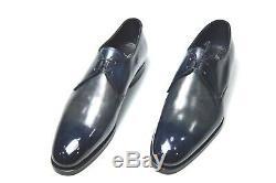 New Santoni Robe Limited Edition Chaussures En Cuir Sz Eu 42 Royaume-uni 8 Nous 9 Led100
