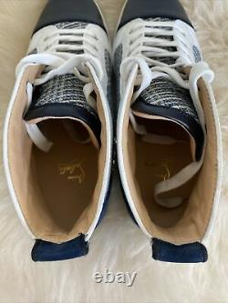 Nib Christian Louboutin Hommes Louis Orlato High Top Sneaker Version Multi 44.5