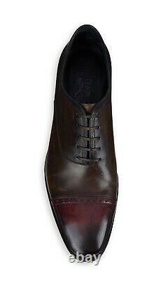 Nib Salvatore Ferragamo Tramezza Gennaro Tricolor Edition Limitée Chaussures Sz 8.5ee