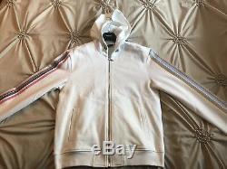Nouveau $ 1225 Versace Limited Edition Pop Medusa Blanc Multi Color Taille Large Capuche
