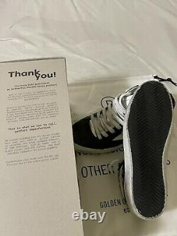 Nouveau 635 $ Sz 36 Golden Goose Edition Privée Midstar Glitter Sneaker Black Silver