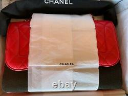 Nouveau Chanel Mademoiselle Chic Flap Bag Quilted Lambskin Jumbo Ltd Edition