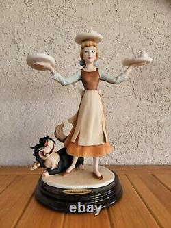 Nouveau Dans Box Disney Cendrillon Dans Rags Giuseppe Armani #108 Limited Edition Coa