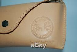 Nouveau Ray-ban Rb 8034 K Caravan Ultra Titanium 18k Gold Limited Édition 55 MM Dernier