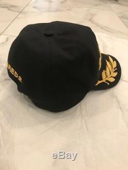 Nouveau Snapback Dsquared Hat De Broderie 24/7 Étoiles. Edition Exclusive
