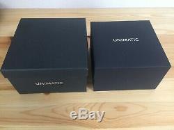 Nouveau Unimatic Modello Uno U1-dzn 200 World Limited Automatic Edition Montre Verte