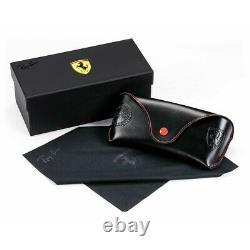 Nouvelles Lunettes De Soleil Rayban 3647m Noir/vert G-15 F02831 Ferrari Limited Edition
