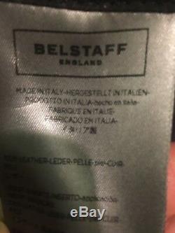 Nwt Belstaff Ss17 Steve Mcqueen Édition Étoile Moto Veste Motard En Cuir 40 Hommes Nous
