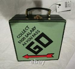 Olympia Le-tan X Monopoly Hasbro Hand Bag Limited Edition Rare Designer Nouveau