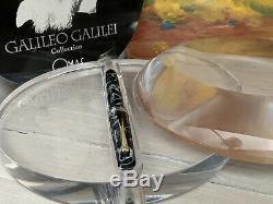 Omas Galileo Galilei Limited Edition Fine En Or 18 Carats Nib Fountain Pen