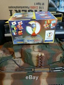 Panini Corée Et Japon 2002 Coupe Du Monde. Boîtier Étanche 100 Packets Bustine Édition Rare