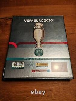 Panini Euro 2020 Pearl Edition Collector Box + Hobby Sapiens Binder Promotion