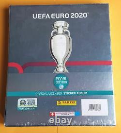 Panini Euro 2020 Swiss Pearl Edition Limited Collectors Box