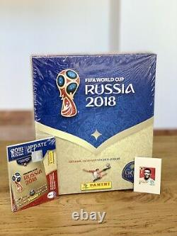 Panini Russie 2018 World Cup Gold Edition + Update Set + Legends Mbappe Rookie