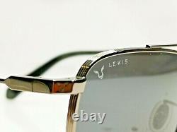 Police X Lewis Hamilton F1 Edition Lunettes De Soleil Homme Silver Pilot Spl B28 Col 0568