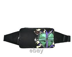 Prada Belt Bag Frankenstein Heart Limited Edition Funny Pack Black Nylon Nouveau