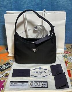 Prada Re-edition 2000 Mini Sac Tessuto Rfid 100% Livraison Authentique Dès Aujourd'hui Gratuit
