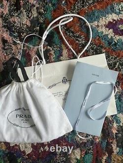 Prada Réédition 2000 Nylon Mini Bag Noir Avec Sac De Poussière