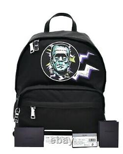 Prada Sac À Dos Frankenstein Limited Edition Black Nylon Nouveau